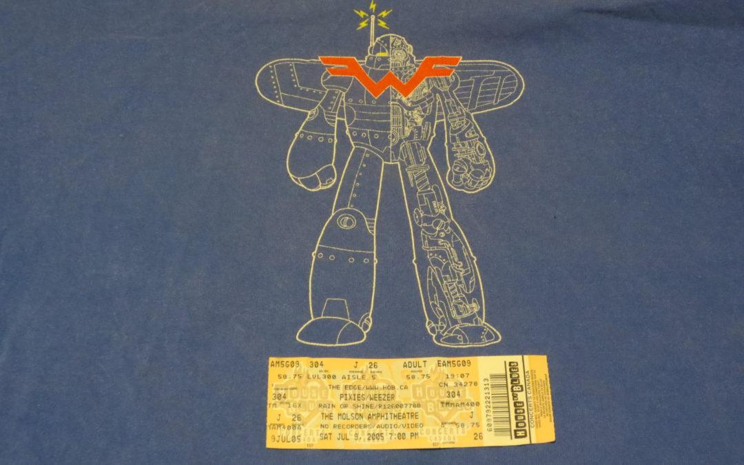 Concert Retrospective #2- Weezer & Pixies