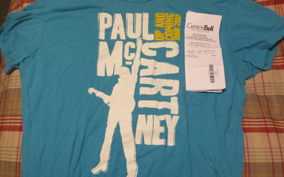 Concert Retrospective #3- Paul McCartney (August 12, 2010, Montreal)