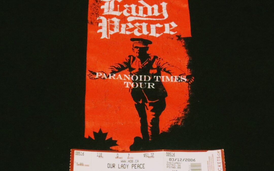 Concert Retrospective #4- Our Lady Peace (May 16, 2006)